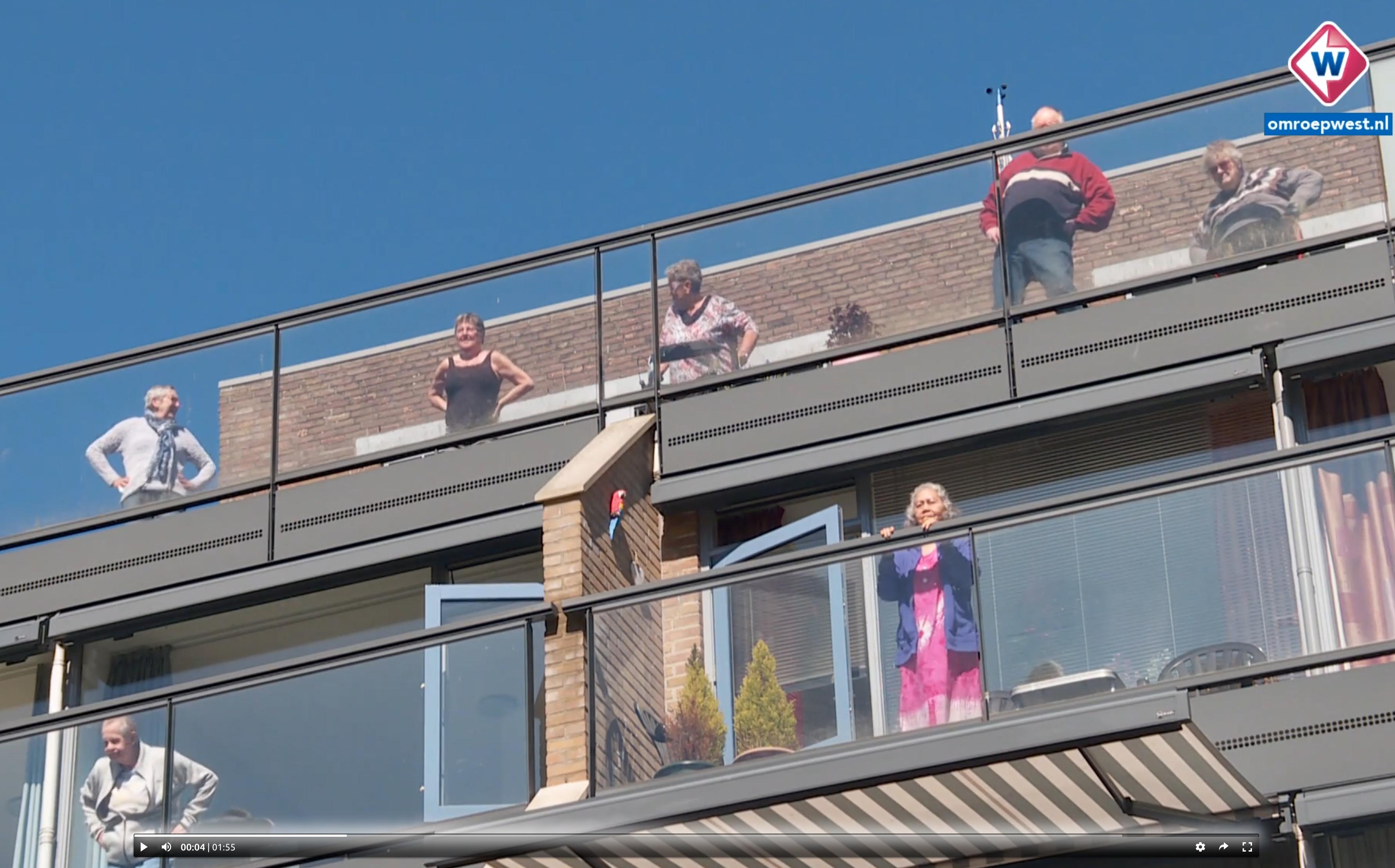 Fysiotherapie Meerzicht Zoetermeer balkon gym